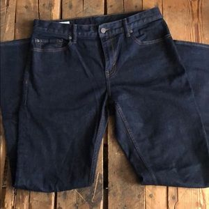 Men's Straight Leg Dark Denim Jeans Sz 33 x 34